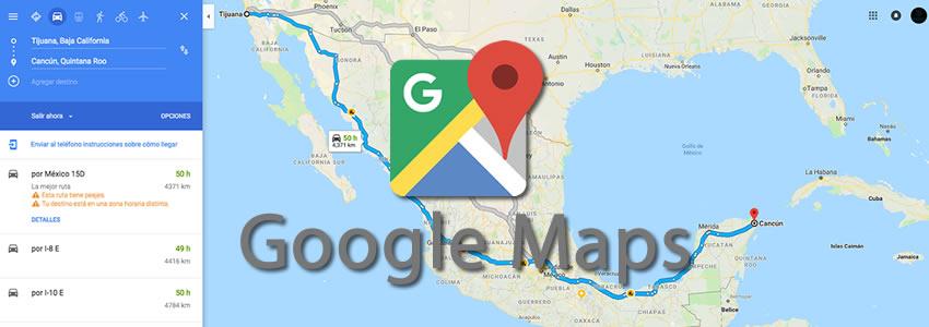 7 trucos que no conocías de Google Maps