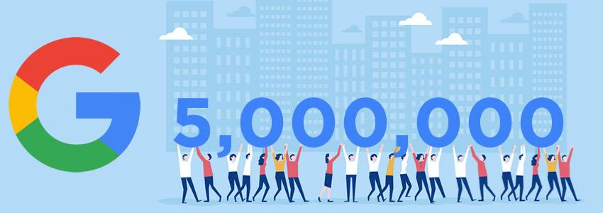 5 millones y contando: G Suite está transformando el trabajo