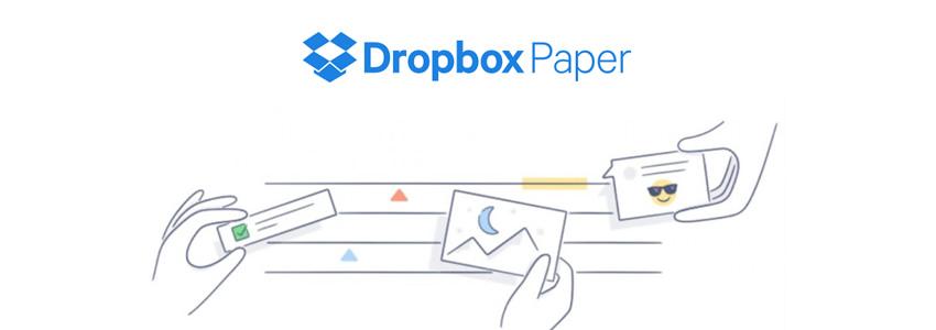 Colaboración en tiempo real: Dropbox Paper para Dropbox Business