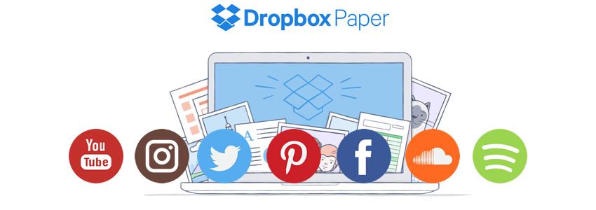 Herramientas compatibles con Dropbox Paper de Dropbox Business