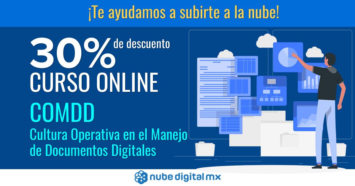 ¡Curso en línea para subirte a la nube con 30% de descuento!