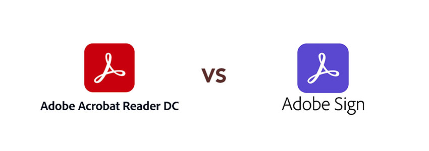 Diferencias entre ADOBE Document Cloud (DC) y ADOBE Sign