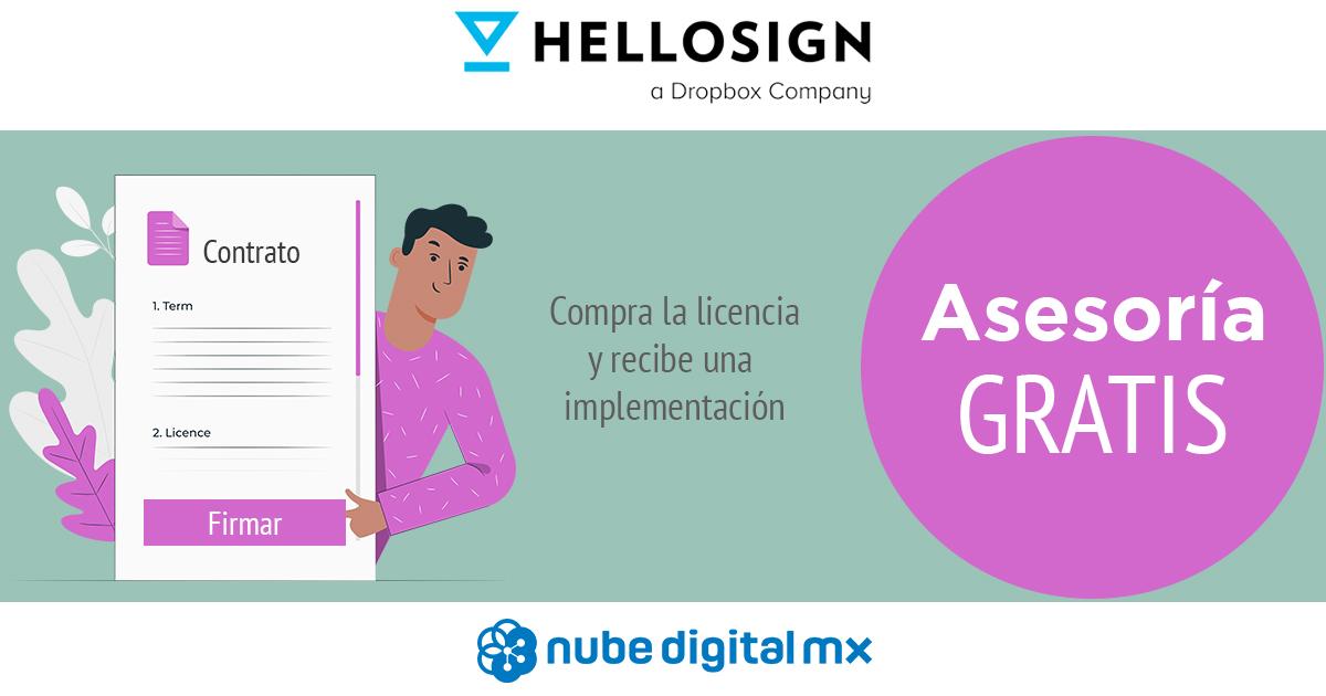 Recibe asesoría gratis en la compra de HelloSign